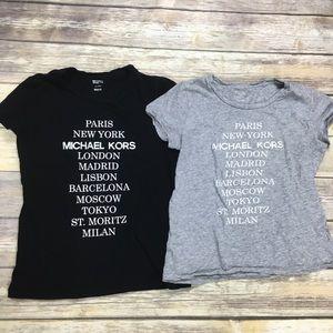 {MICHAEL} Graphic Short Sleeve Shirt Sz S bundle 2